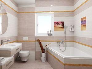 Тропический закат для вашей ванной комнаты