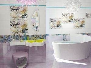 Современное искусство оформления ванных комнат