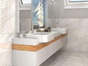 Ванная комната с эффектом оптической иллюзии