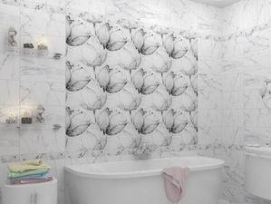 Каррарский мрамор для русской ванной комнаты