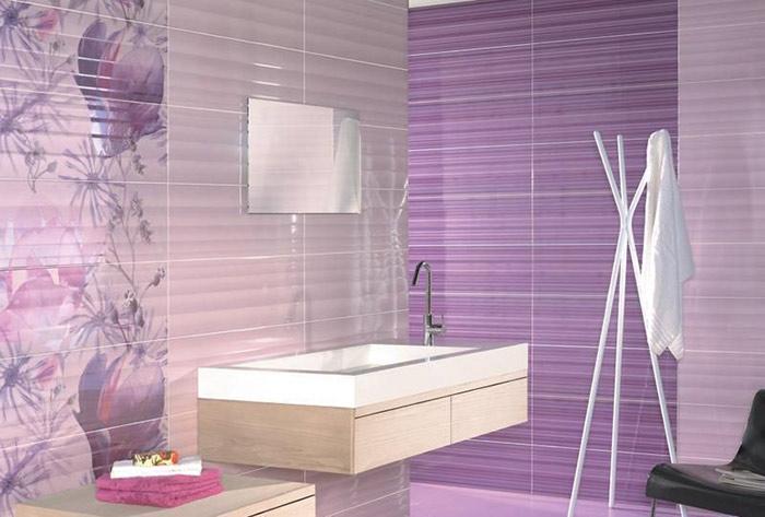 Serie 7018 (Porcelanite Dos) - плитка в фиолетовых тонах