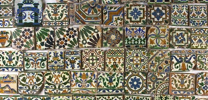 Старинная испанская плитка